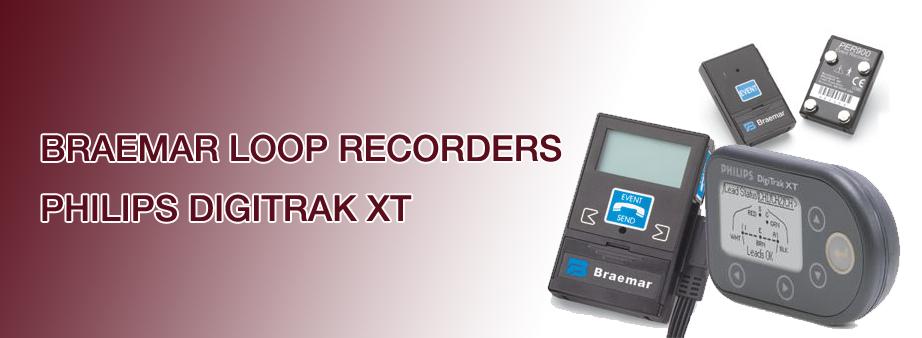 Loop Recorder manufactured by Braemar